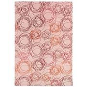 Sale 9082C - Lot 46 - Nepal Tashi Stripe Rug,185x217cm, Tibetan Highland Wool & Silk
