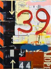 Sale 8411A - Lot 5015 - Michael Jeffery (1965 - ) - Below the Belt, 2012 115 x 85cm