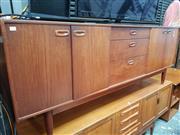 Sale 8435 - Lot 1099 - Younger Teak Sideboard