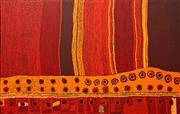 Sale 8696 - Lot 530 - Marinkga Baker (1952 - ) - Papaku Tjukurpa, 2009 93 x 148.5cm (stretched and ready to hang)