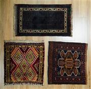 Sale 8643C - Lot 75 - 3 x Persian Door Mats 60cm x 80cm