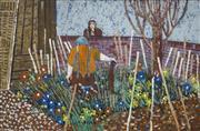 Sale 8708A - Lot 568 - John Hopkinson (1941 - ) - Overgrown Plot, 1978-1979 30.5 x 46cm