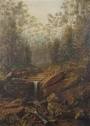 Sale 8755 - Lot 566 - Attributed to James Howe Carse (1819 - 1900) - Untitled (Bush Scene) 65 x 46.5cm