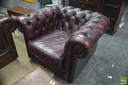 Sale 8310 - Lot 1636 - Chesterfield Armchair