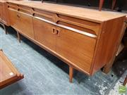 Sale 8476 - Lot 1001 - Superb Alfred Cox Teak Sideboard