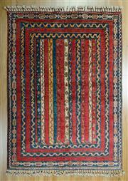 Sale 8643C - Lot 76 - Afghan Chobi Aryana 145cm x 106cm