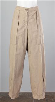Sale 8661F - Lot 22 - A pair of OSKA, Germany taupe pants, never worn, size EU 4.