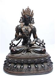 Sale 8710 - Lot 59 - Tibetan Bronze Buddha Figure