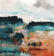 Sale 8781 - Lot 513 - Cheryl Cusick - The Gap 100 x 100cm