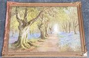 Sale 8961 - Lot 2085 - Pair of Vintage Decorative Prints, After Rex Newell and an Autumn Landscape