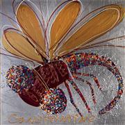 Sale 9081A - Lot 5084 - Constantine Popov (1965 - ) - Dragonfly 58.5 x 59 cm (frame: 78 x 78 x 4 cm)
