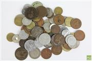 Sale 8463 - Lot 12 - Australian Pennies, Half-Pennies & World Currency (3 Tubs)