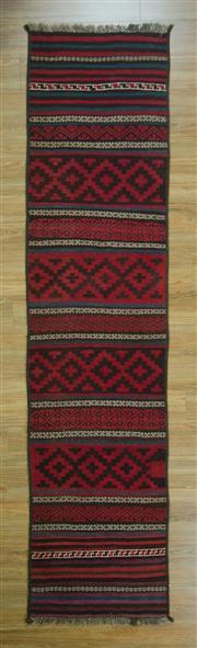 Sale 8643C - Lot 77 - Persian Kilim 297cm x 77cm