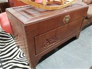 Sale 8745 - Lot 1090 - Camphorwood Chest