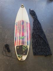 Sale 8949 - Lot 2083 - Chilli Tri Fin Surfboard