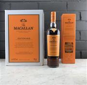 Sale 9042W - Lot 828 - 6x The Macallan Distillery Edition No. 2 Highland Single Malt Scotch Whisky - limited edition no. C4.V372.T21.2016-002, 48.2% ABV,...