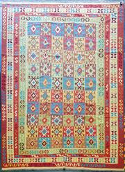 Sale 9059 - Lot 1095 - Persian Hand Knotted Woollen Kilim (400 x 310cm)