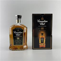 Sale 9250W - Lot 750 - Canadian Club Classic 12YO Canadian Whisky - 40% ABV, 700ml in box