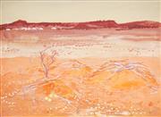 Sale 8510 - Lot 525 - Clifton Ernest Pugh (1924 - 1990) - Untitled (Parched Landscape) 55 x 74.5cm