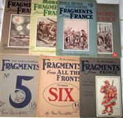 Sale 8639 - Lot 62 - The Bystander's Fragments from France in Seven Parts by Bruce Bairns father.