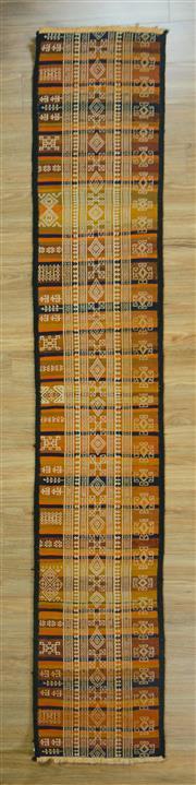 Sale 8643C - Lot 78 - Turkish Kilim 304cm x 54cm