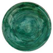 Sale 9002A - Lot 5028 - Arthur Boyd (1920 - 1999) - Studio Pottery Platter, c1944 - 1962 d. 36 cm (top), d. 25cm (base)