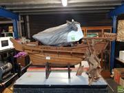 Sale 8582 - Lot 2305 - Timber Oriental Model Junk