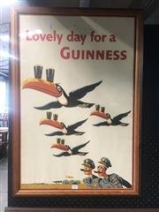 Sale 8751 - Lot 2067 - Lovely Day for a Guinness Poster