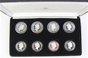 Sale 8806 - Lot 70 - Ten Dollar Silver Proof State Series $10 Proof Set 1985-1993