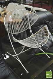 Sale 8392 - Lot 1096 - Orange Slice Chair