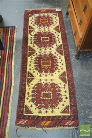 Sale 8440 - Lot 1044 - Small Woollen Runner (60 x 180cm)
