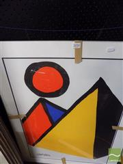 Sale 8461A - Lot 2050 - Alexander Calder (1898 - 1976) - Pyramid 71 x 50.5cm