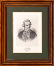 Sale 8625A - Lot 10 - A framed engraved portrait of Captain James Cook & A Chart of the Friendly Isles, 52 x 42cm.
