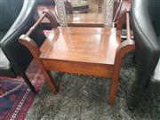 Sale 8676 - Lot 1151 - Timber Piano Stool with Lift Top Seat