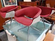 Sale 8765 - Lot 1030 - Set of 4 B&B Italia Tub Chairs