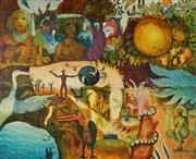 Sale 8938 - Lot 592 - Heinz Steinmann (1943 - ) - Inner Journey, c1970s 48 x 58 cm