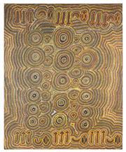 Sale 9070H - Lot 52 - Artist Unknown - Aboriginal work - 20th Century 127 x 155cm