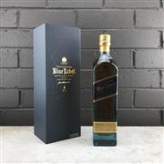 Sale 9079W - Lot 874 - Johnnie Walker Blue Label Blended Scotch Whisky - bottle no. IA6 85531, 40% ABV, 700ml in presentation box