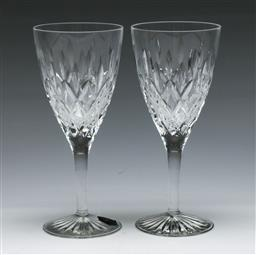 Sale 9156 - Lot 77 - A Duo of Stuart Crystal Glengarry Cambridge Toasting Glasses, Each Stamped to base (H:20cm)