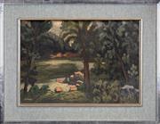 Sale 8427 - Lot 574 - Desiderius Orban (1884 - 1986) - South Coast, Timberland II 38 x 55cm
