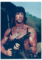 Sale 8555A - Lot 5037 - Sylvester Stalone Rambo