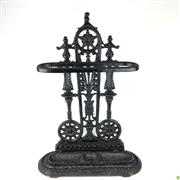 Sale 8562R - Lot 12 - Cast Iron Stick Stand (H: 70cm)