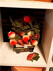 Sale 8582 - Lot 2397 - Faux Peach Tree a/f