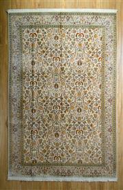 Sale 8653C - Lot 97 - Kashmiri Silk 186cm x 283cm