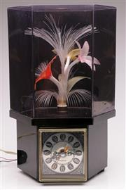 Sale 9060 - Lot 90 - A Fibre Optic Display In Case (Works but some losses) H: 37cm