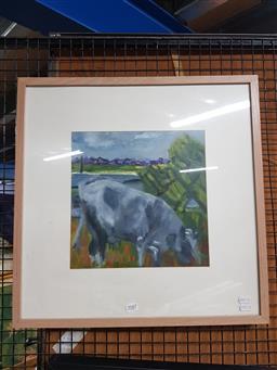 Sale 9155 - Lot 2087 - N Fallon Life Goes On, 2014oil on canvas 53 x 53cm