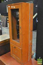 Sale 8364 - Lot 1003 - Vintage Timber Cased Fire Alarm
