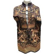 Sale 8649 - Lot 2 - 1920s Chinese Opera Vest Emboidered In Gold