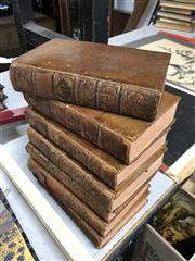 Sale 8789 - Lot 2343 - 7 Volumes: Peter Walley, Late Fellow of St Johns College in Oxford, The Works of Ben Jonsons London 1761