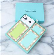 Sale 8866H - Lot 79 - A Tiffany & Co boxed set of playing cards